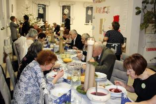 Galeria Wigilia w Klubie Seniora
