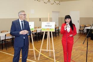 Galeria Minister odwiedził Żelazną
