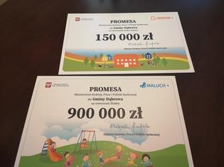 Galeria Ponad milion złotych dla gminy