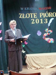 Galeria złote Pióro 2013