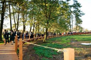 Galeria park dworski zrewitalizowany