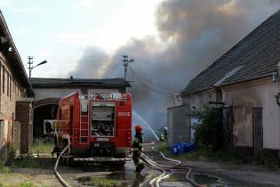 Galeria Pożar w Dąbrowie
