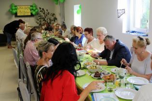 Galeria Biesiada w Klubie Seniora w Dąbrowie