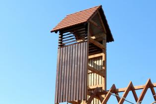 Galeria Wieża już osadzona